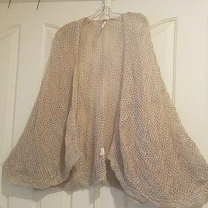 Free People oversized Draped Cardigan Sweater